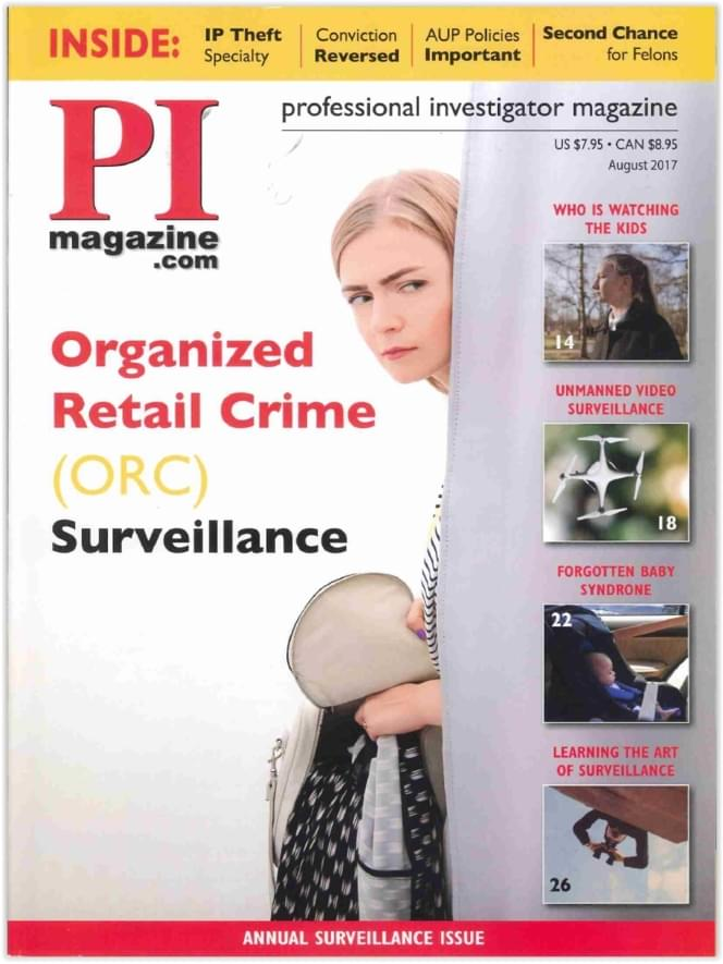 PI Magazine Organized Retail Crime Surveillance Article